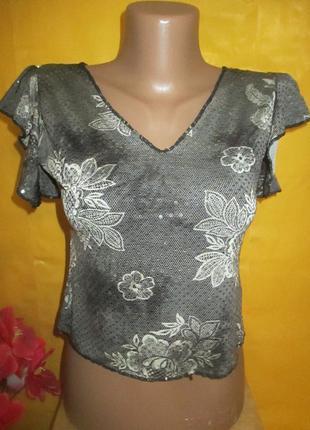 Женская футболка-топ cacti грудь 41-45 см !!!!!!!!!!!!