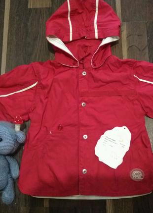 Курточка ветровка детская