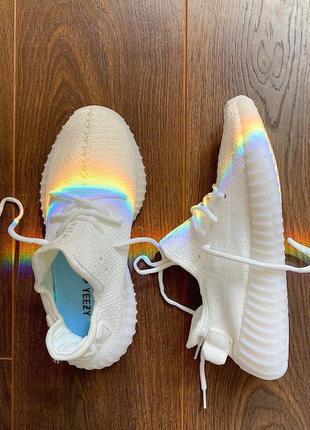 Adidas yeezy 350 white 🆕 мужские кроссовки адидас изи 350 🆕 белые