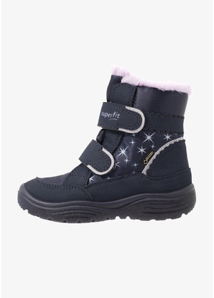 Зимние ботинки superfit crystal 25 размер