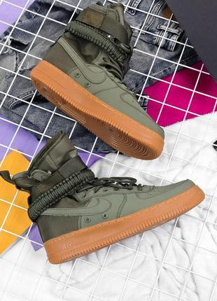 Nike special field air force 1 haki 🆕 мужские кроссовки найк а...