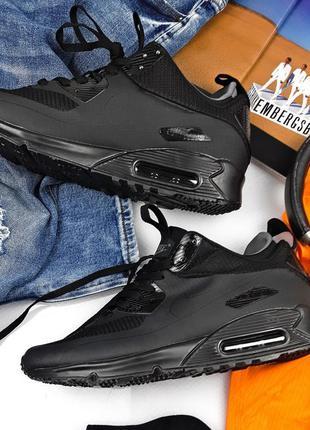Nike airmax 90 winter black 🆕 мужские кроссовки найк аир макс ...