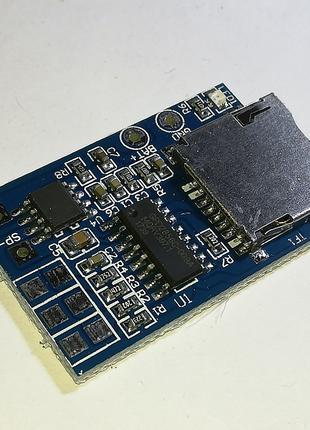 Мини аудио модуль (MP3-плеер) на GPD2856C