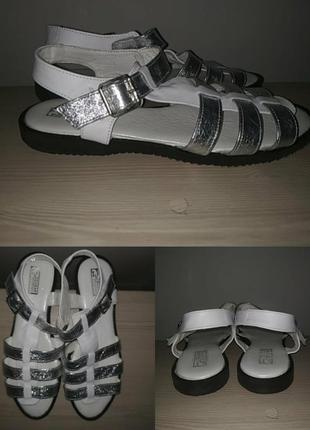Босоножки 42-43 р кожа большой размер сандалии