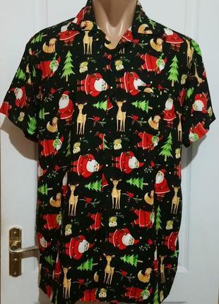 Новогодняя рубашка . новогодний мотив