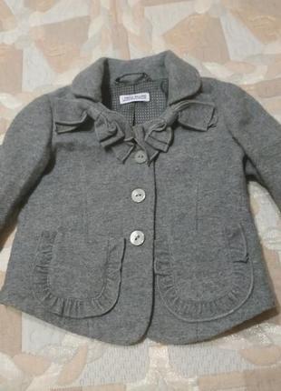 Пиджак жакет брендовый для маленькой модницы
