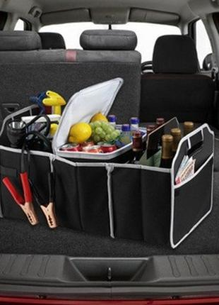 Сумка – органайзер в багажник автомобиля Car Boot Organiser