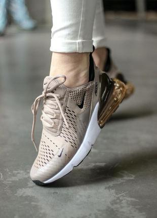 Nike air max 270 🆕 женские кроссовки найк аир макс 🆕 коричневые