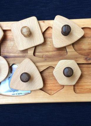 Развивающая игра Детские деревянные пазлы Для детей от года