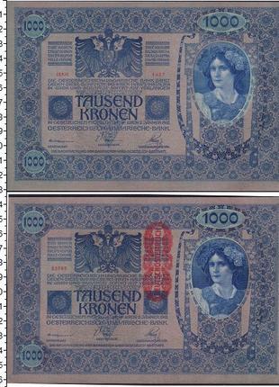 1000 австро-венгерских крон 1902 г.