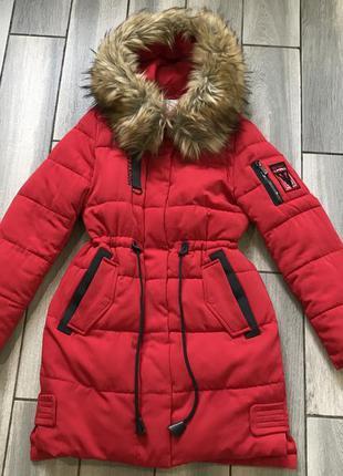 Зимняя куртка пуховик парка