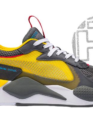 Мужские кроссовки Puma RS-X Transformers Yellow/Grey 370701-02
