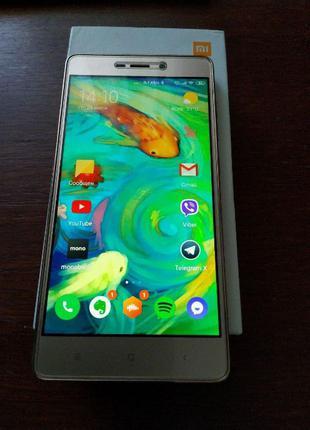 Смартфон Xiaomi Redmi 3s: 2/16 Gb (Gold) + подарки