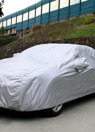 Тент для авто, з підкладкою 510х195х155 см автотент PEVA 4XL в...