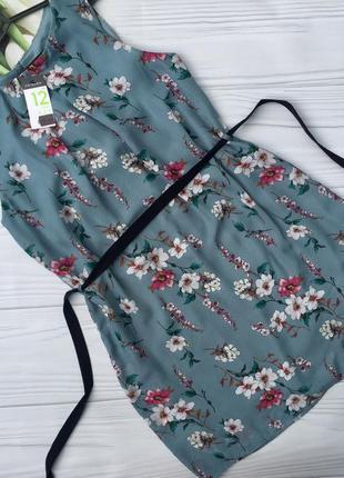 Красивое платье в цветы primark