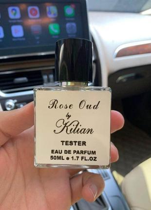 Тестер парфюм rose oud by kilian 50мл духи унисекс