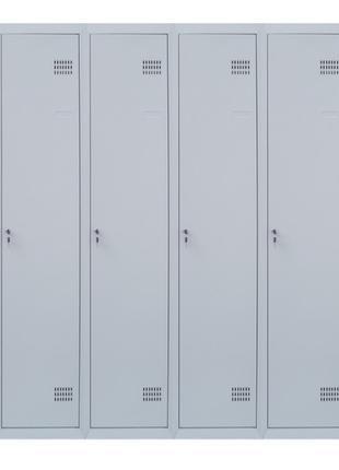 Шкафы метталические для одежды с перегородкой ШОМ-П 4/160
