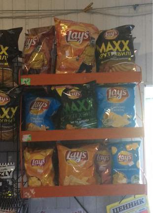 Продам полки для чипсов!