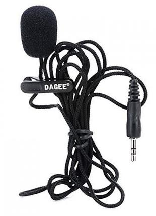 dagee dg-001 Мікрофон, Микрофон петличка