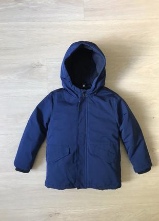 Детская парка Kiabi, куртка 2 в 1: ветровка/парка осень/зима