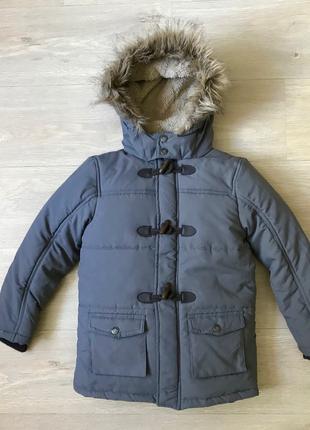 Детская куртка парка Topolino зима деми на мальчика