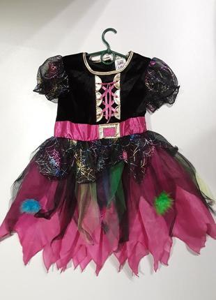 Фирменное платье костюм 3-4 года