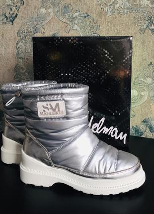 Сапоги ботинки дутики edelman