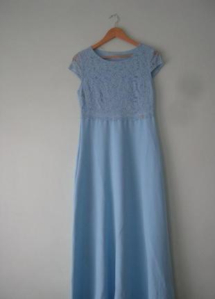 Платье вечернее нарядное,длинное в пол/ertu