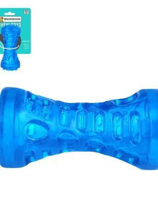 Игрушка для собак Bronzedog CHEW Звуковая гантеля 18 х 5 см