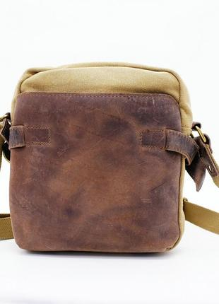Компактная сумка с регулируемым ремнем через плечо с отделкой ...