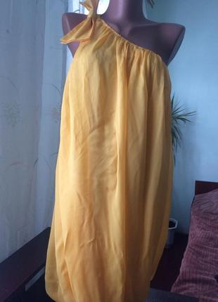Платье коктейльное,на одно плечо/sixty