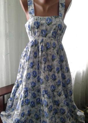 Платье,сарафан/100% хлопок индия