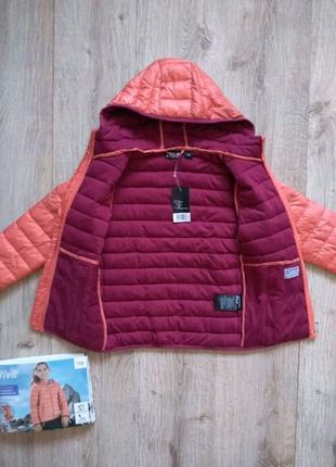 Crivit непромокаемая 134 курточка на девочку весна осень Crivit