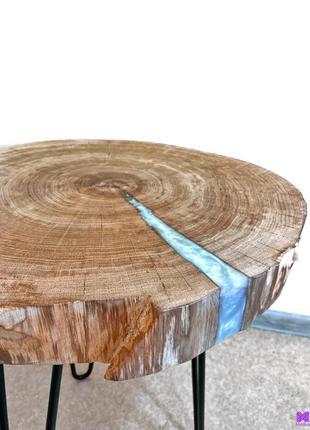 Стол, слэб, эпоксидная смола, журнальный столик, кофейный стол, м