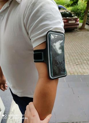 Чехол спорт на руку для пробежек на всі моделі телефонів