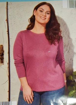 Мягкий джемпер, пуловер xl 48-50 euro, (наш 54-56), blue motio...