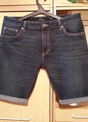 Джинсовые шорты,бриджи s&j.оригинал.
