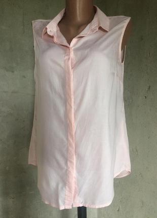 Блуза розовая,лето/top secret