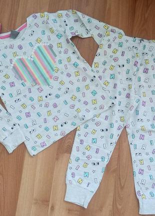 Пижамка для девочки. пижама детская. пижамка. детская пижама