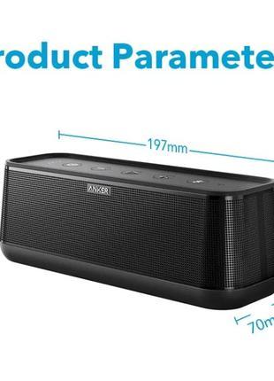 Anker SoundCore Pro+ новая, мощная и качественная колонка 25 Ватт