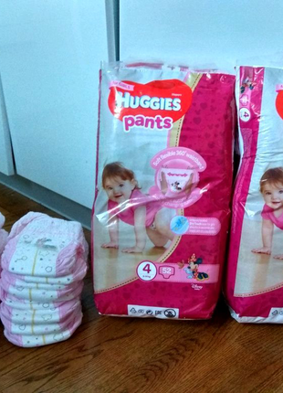 Трусики Huggies pants 4 (9-14 кг) 124 шт