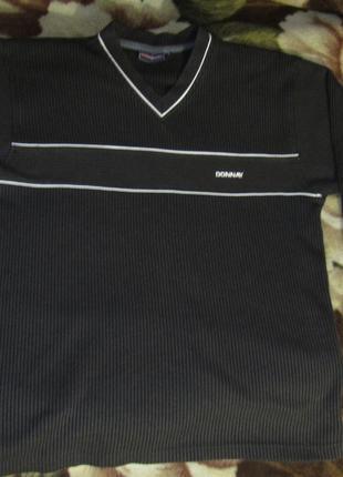 Легкий спорт вафельный свитер donay L
