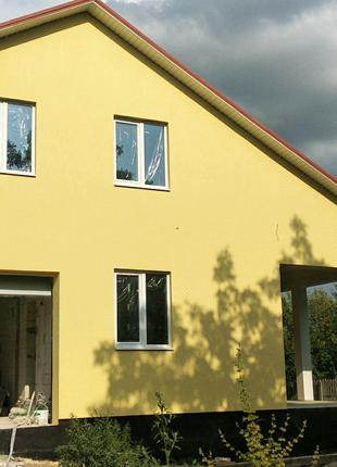 Утепление фасадов домов стен пенопластом короед фасадчики бригада