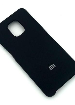 Чехол XIAOMI RedMi Note 9 Pro/Note 9S Silicon Case Black