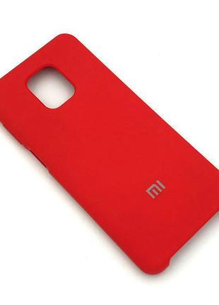 Чехол XIAOMI RedMi Note 9 Pro/Note 9S Silicon Case Red