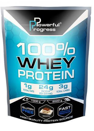 Powerful Progress - Україна100% Whey Protein 1000g (Тірамісу)