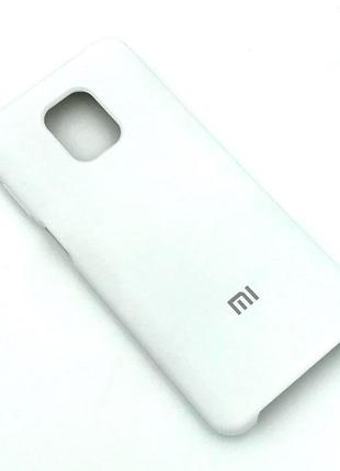 Чехол XIAOMI RedMi Note 9 Pro/Note 9S Silicon Case White