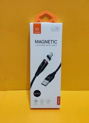 IPhone магнитный кабель Mcdodo Магнитная зарядка Шнур Айфон iOS A