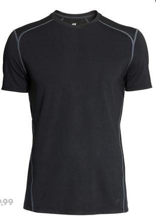 Быстросохнущая футболка для спорта h&m sport