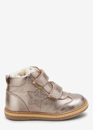 Демисезонный ботинки на липучке
